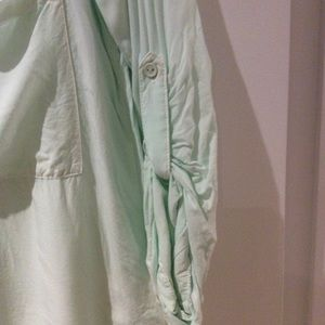 Anthropologie Tops - Anthropologie mint green blouse
